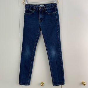 Hudson 12 girls skinny adjustable waist jeans